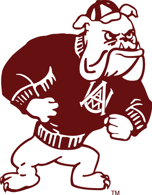 Alabama A&M Bulldogs iron ons