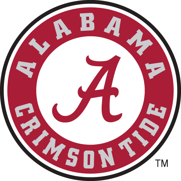 Alabama Crimson Tide iron ons