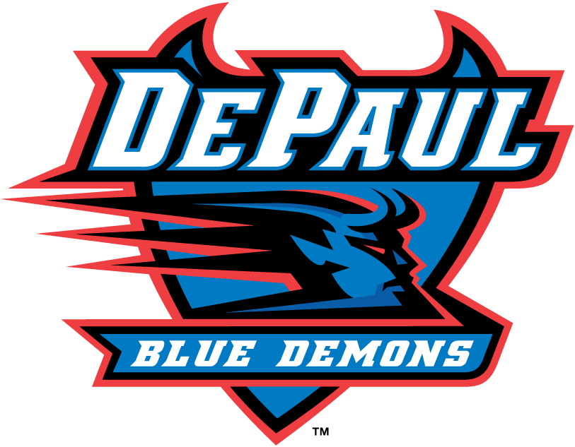 DePaul Blue Demons iron ons