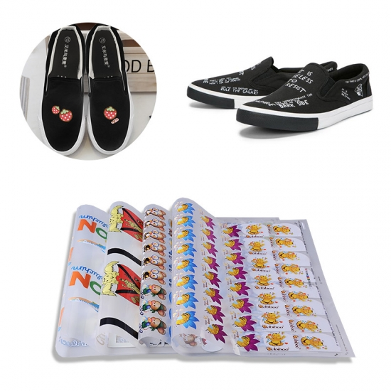 Canvas Shoes Iron-on Transfer Stickers