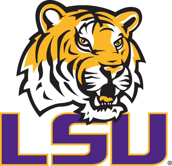 LSU Tigers iron ons