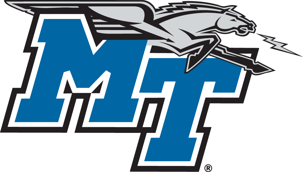 Middle Tennessee Blue Raiders iron ons