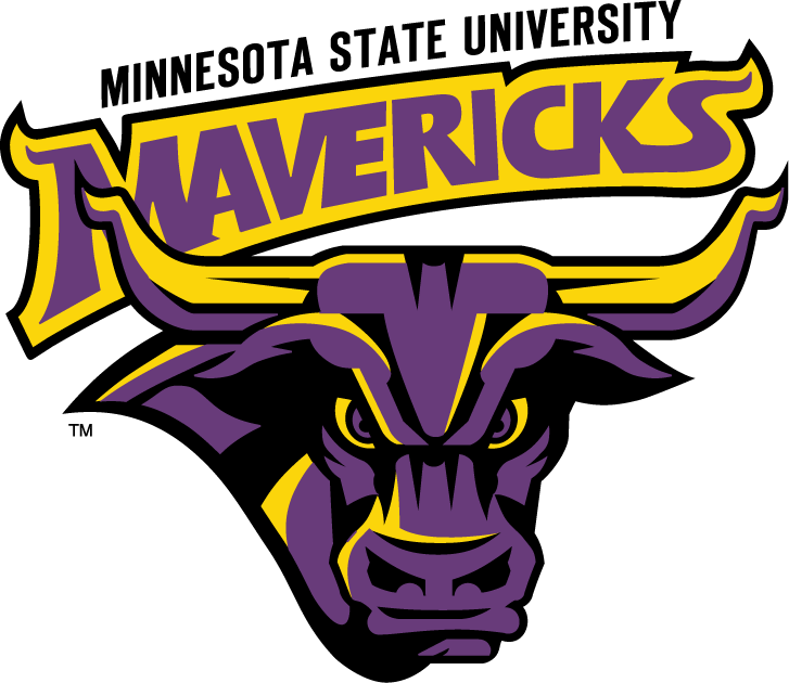 Minnesota State Mavericks iron ons