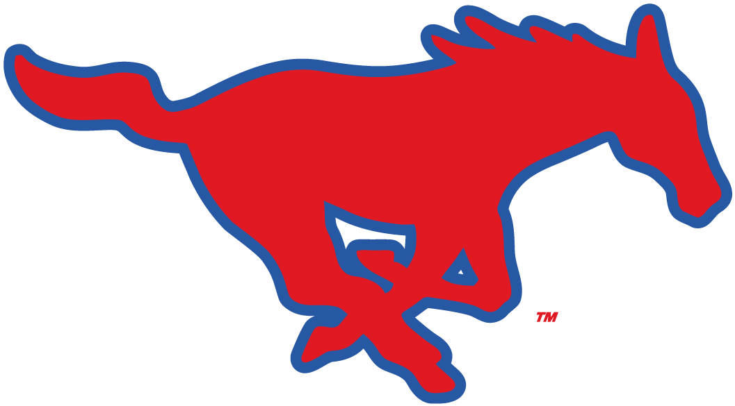 Southern Methodist Mustangs iron ons