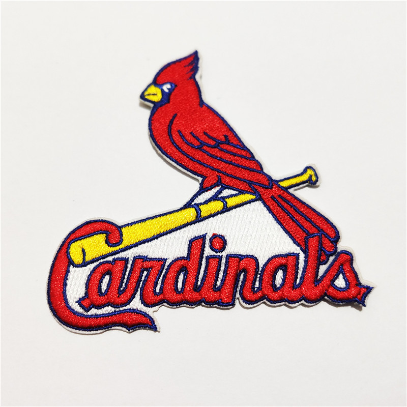 St. Louis Cardinals Logo Iron-on Patch Velcro Patch 3.5 inches