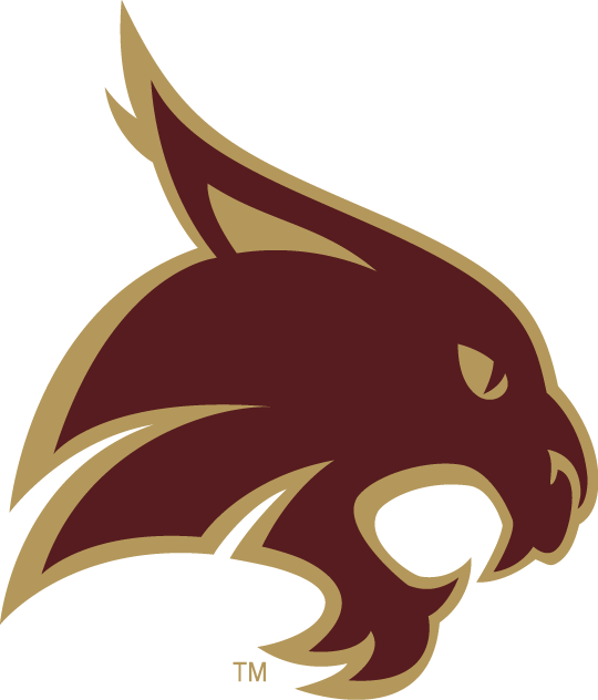 Texas State Bobcats iron ons