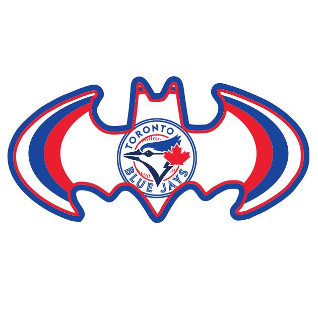 Toronto Blue Jays Batman Logo iron on transfers