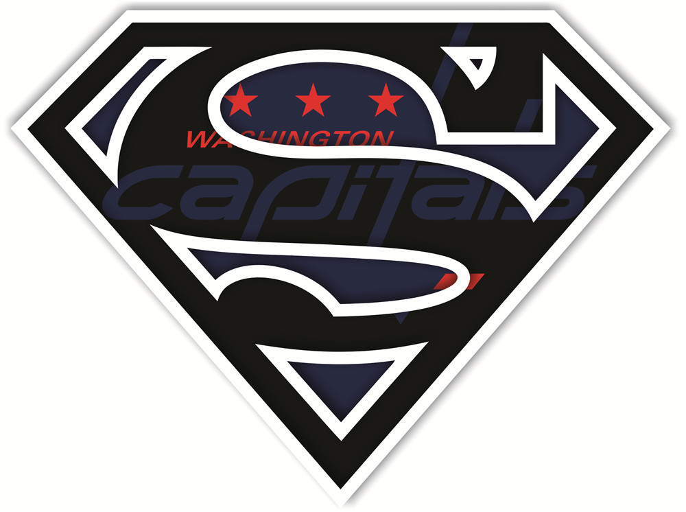 Washington Capitals superman logos iron on heat transfer