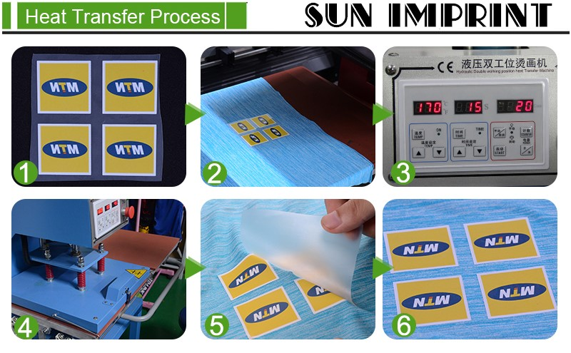 Plastisol Printing Iron-on Transfer Stickers For T-Shirt